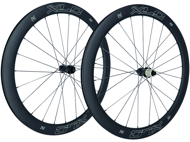 "XLC WS-C50 Road Carbon Wheel Set 28"" Disc CL TA"